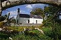 Durrow Abbey under a tree.jpg