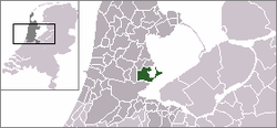 Dutch Municipality Waterland 2006.png