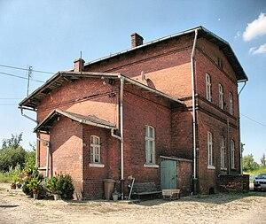 Dziadoszyce - Former railway station