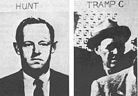 E. Howard Hunt & One of the Three Tramps Arrested after JFK Assassination.jpg