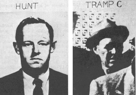 E. Howard Hunt %26 One of the Three Tramps Arrested after JFK Assassination