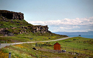 European route E75 - Image: E75 Nord Varangerfjord 2012 07 08 12 00 013