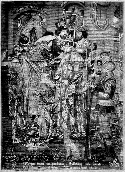 EB1911 Tapestry - Arrival of Queen Penthesilea at the court of King Priam.jpg