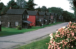Eckley Miners' Village - Laborers' dwellings