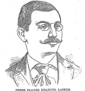 Emanuel Lasker - Sketch of Lasker, c. 1894