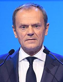 Donald Tusk Polish politician, current President of the European Council