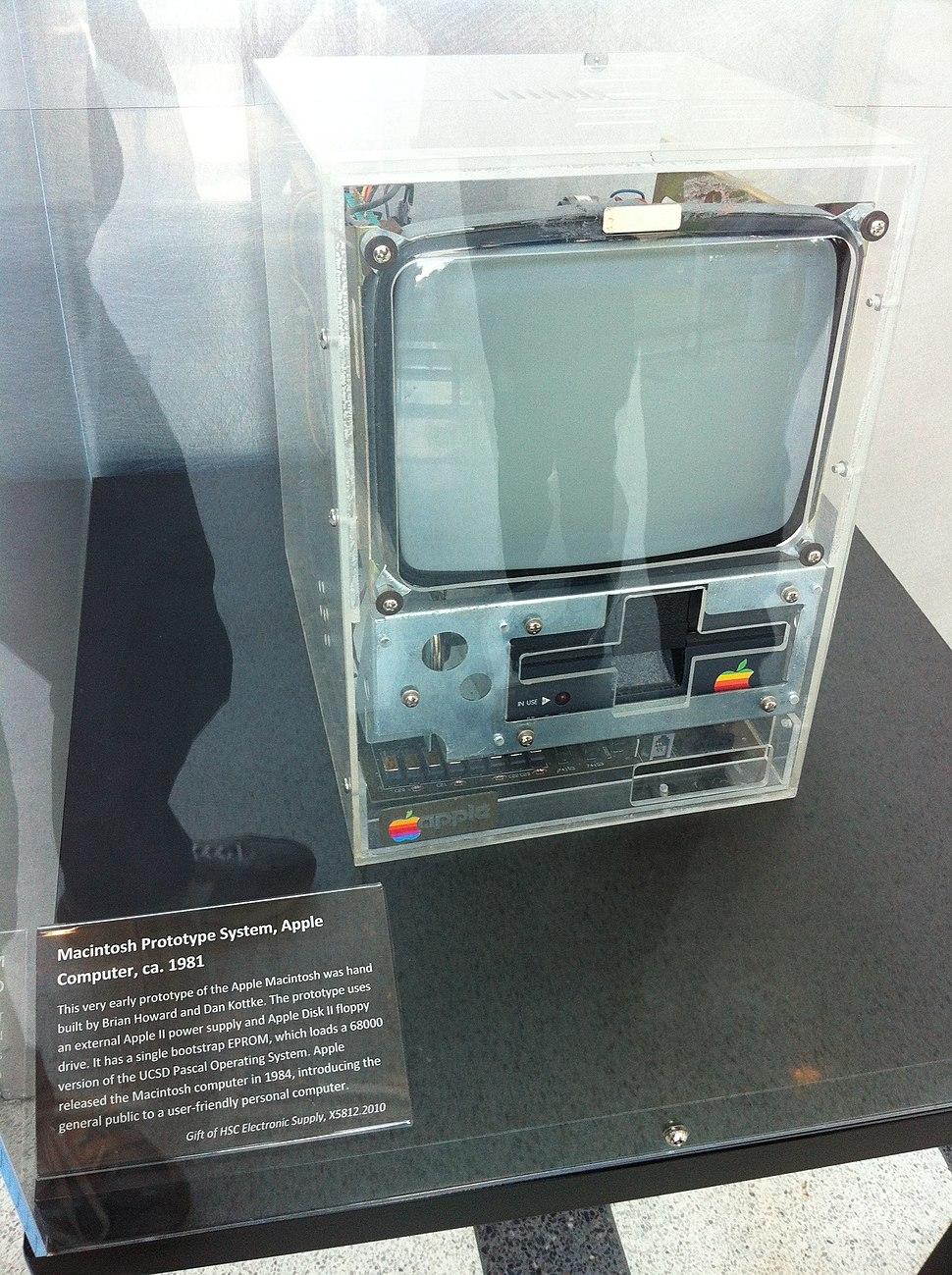 Early Macintosh Prototype Computer History Museum Mountain View California 2013-04-11 23-45