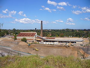 Eastwood, New South Wales - The old Eastwood Brickworks site, now developed into a housing estate