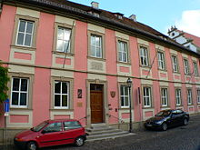 Wohnhaus von Rückerts Eltern in Ebern (Quelle: Wikimedia)