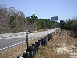 Echols County Border sign on GA SR 94.JPG