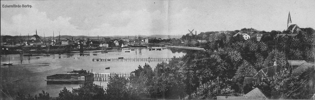 Eckernfoerde-Borby - Panorama (1915).jpg