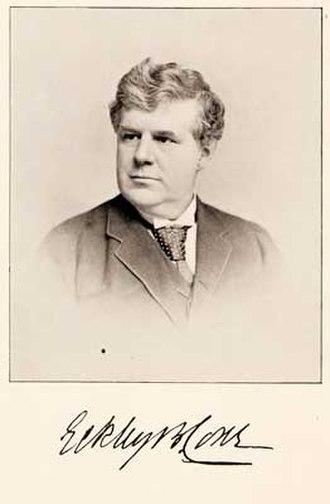 Eckley Brinton Coxe - Eckley B. Coxe, 1875