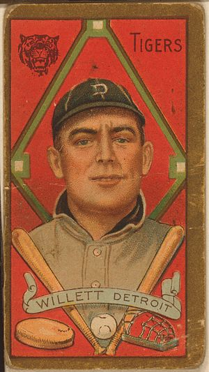 Ed Willett - Willett's 1911 American Tobacco card