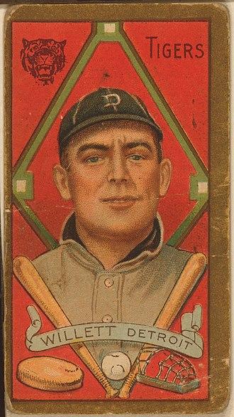 Ed Willett - Willett's 1911 American Tobacco card