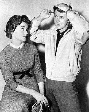 "77 Sunset Strip - ""Kookie"" and Sue Randall, 1964"