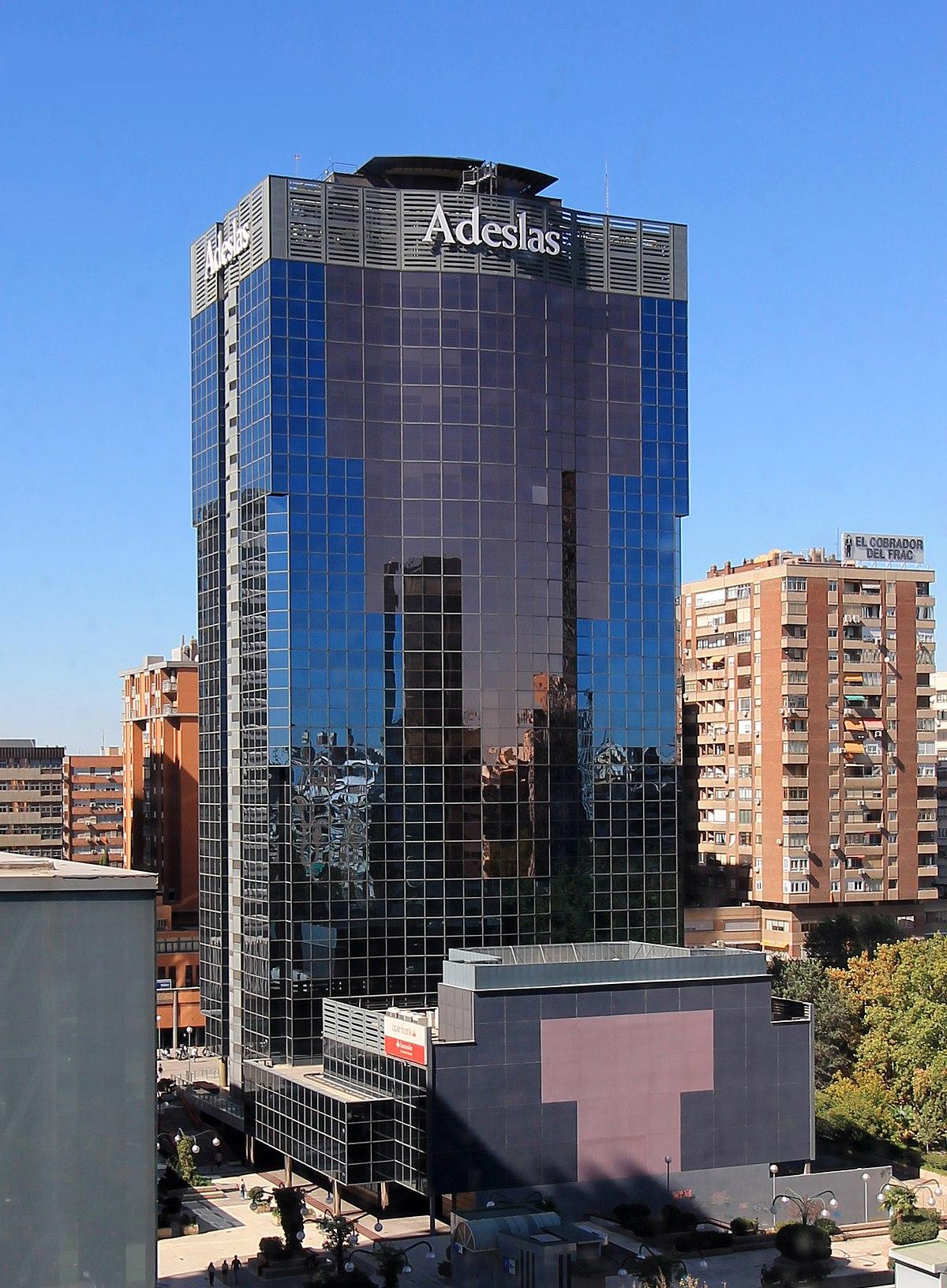Torre mahou wikipedia la enciclopedia libre - Oficinas de adeslas en madrid ...