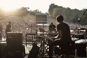 Editors (band) - Image: Editors picnic