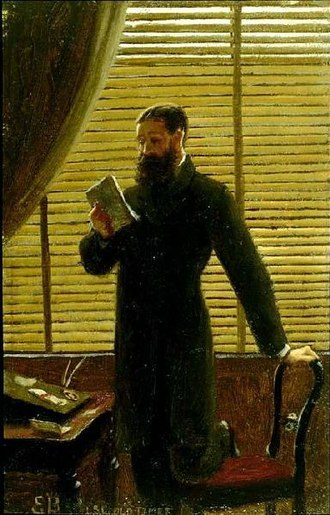 Edmund Leighton - Image: Edmund Blair Leighton Old Times