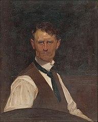Self-Portrait in a White Shirt