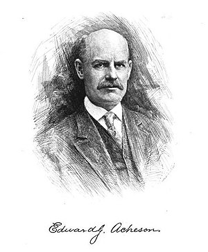 Edward Goodrich Acheson - Edward Goodrich Acheson, from a sketch in The Americana 1911