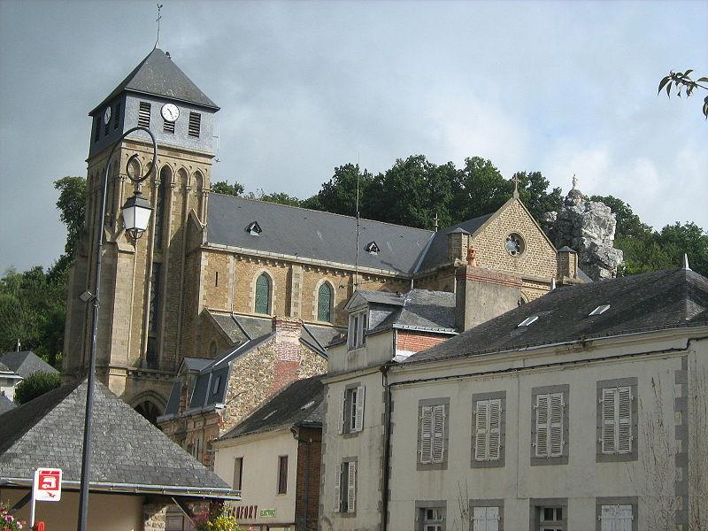Église Notre-Dame de Chailland (Mayenne, France)