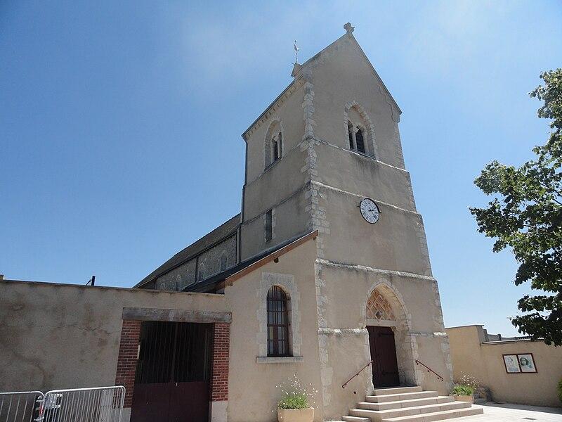 Église Saint-Timothée à Dizy dans la Marne