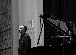 Abdel Rahman El Bacha - Abdel Rahman El Bacha on the concert at théatre St Victor-Mutualité, Paris. 2 March 2006