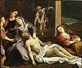 El Descendimiento o La Quinta Angustia. Copia de un original de Correggio (Museo del Prado).jpg