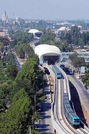 El Metro en Maipú
