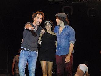 El Sueño de Morfeo - From left to right: David Feito, Raquel del Rosario and Juan Luis Suárez.