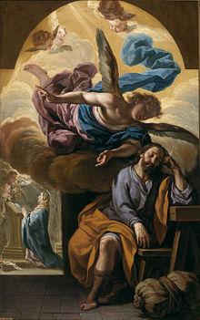 Sogno di san Giuseppe, Antonio Palomino