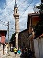 Elbasan - Mbret-Moschee 1 Minarett.jpg