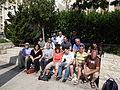 Elef Milim Project – Downtown, Haifa, Wikipedians (1).JPG