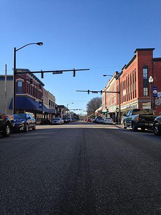 Elizabeth City, North Carolina - Elizabeth City's Main St.