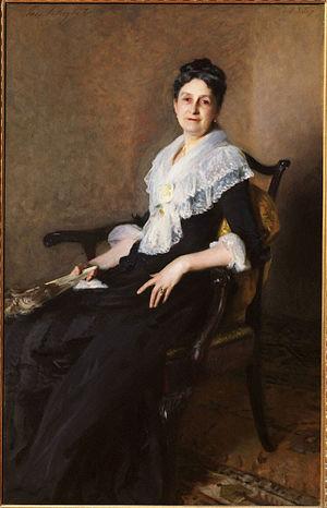 Henry Gurdon Marquand - John Singer Sargent, Elizabeth Allen Marquand, 1887, in the Princeton University Art Museum