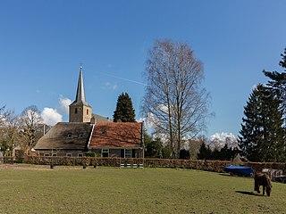Ellecom farm village in the Netherlands