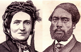 Ellen and William Craft fugitive slaves and slavery abolitionists, from Macon, Georgia