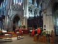 Ely Cathedral, choir practice - geograph.org.uk - 1771141.jpg