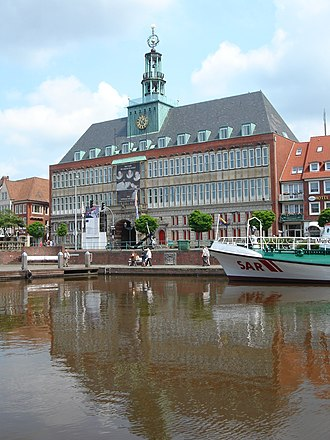 Emden - The City Hall (Rathaus)