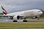 Emirates SkyCargo Boeing 777F - A6-EFH - BSL (23345760526).jpg
