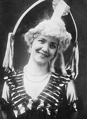 Emma Trentini (1878-1959), Italian soprano ope...