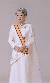 Empress Michiko Wife of Akihito, the 125th Emperor of Japan