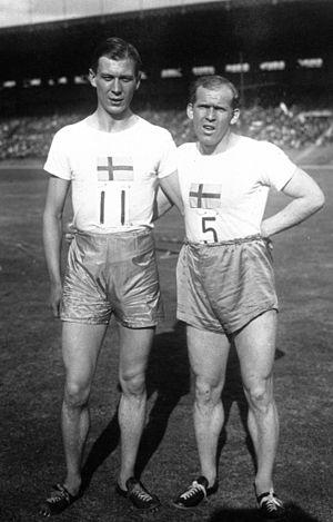 Nils Engdahl - Engdahl (left) in 1926