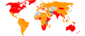 English Wikipedia as the most viewed Wikipedia per country (1st and 2nd).png