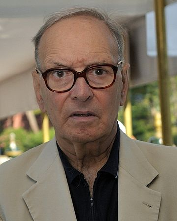 Morricone at the 2009 Venice International Film Festival Ennio Morricone 66eme Festival de Venise (Mostra) fragment.jpg