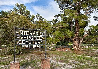 Enterprise, Florida - Enterprise Evergreen Cemetery - Established in 1841