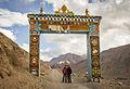 Entrada al Key Gompa, Himachal Pradesh (8513994694).jpg