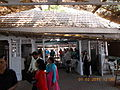Entrance gate to '1st Enclosure' on Indian Derby day..JPG