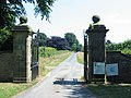 Entrance gates to Wykeham Mature Plants - geograph.org.uk - 196157.jpg