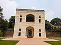 Entrance porch, right before the Arab Sarai Gate, towards Humayun's tomb, New Delhi, India.jpg